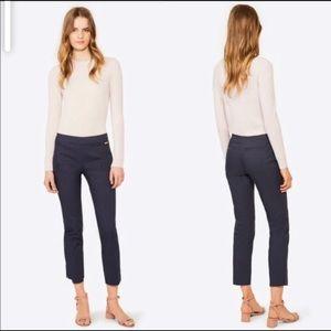 🇺🇸Tory Burch Callie Navy Skinny Ankle Pants (12)
